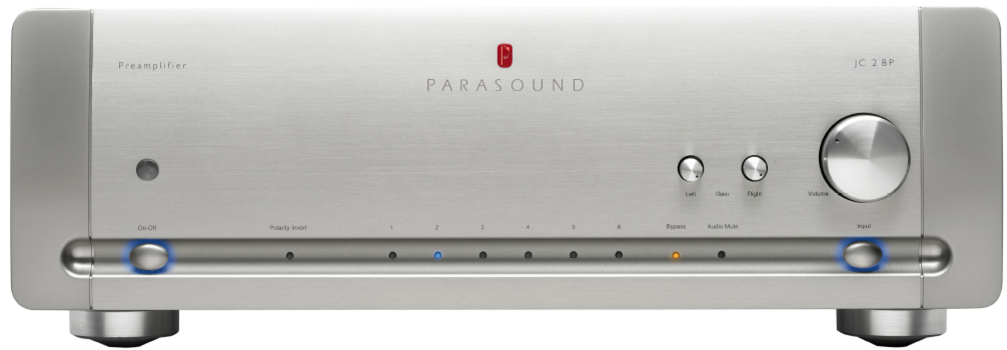 HALO by Parasound JC 2 BP Preamplifier
